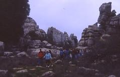 Torcal de Antequera File0001 (Rafael Jiménez) Tags: diapositivas slides 1993 1994 torcal torcaldeantequera antequera antequeramálaga málaga rocas