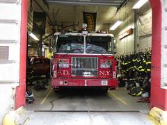 FDNY - Ladder 1 (FirefighterPJ) Tags: fdny ladder 1 fire department manhatten new york city firefighter