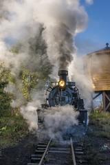 Morning Steam (Erik C. Lindgren) Tags: denverandriograndewestern riogranderailroad narrowgauge steamlocomotive steamtrains steamengine steamlocomotives coloradonarrowgauge coloradorailroads coloradotrains