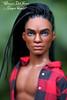 OOAK AA Ken (wixanawiggova) Tags: doll ken barbie mattel matteldoll rasta dreads dreadlocks afroamerican handsome repaint ooakdoll ooakken