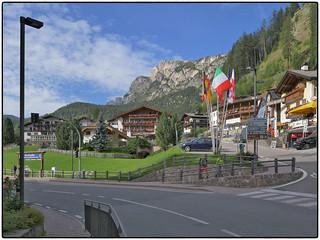 Day 11 • Dolomiten, Wolkenstein, Wintersport-Ort
