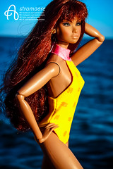 Erin (astramaore) Tags: astramaore making erin salston nu nuface tan tanned longhair sea swimsuit swimwear summer yellow blue chic beauty glam style girl doll dollphotography dolcevita dolls fashion fashionroyalty fashiondoll