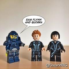 #LEGO_Galaxy_Patrol #LEGO #ideas #LEGOideas #TRON #Legacy #TRONLegacy #Sam #Flynn #SamFlynn #Quorra (@OscarWRG) Tags: legogalaxypatrol lego ideas legoideas tron legacy tronlegacy sam flynn samflynn quorra
