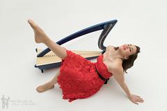 Claire and the Harp (Melbourne Ceili Camera) Tags: clairepatti clairepattimusic dcfstudios melbourneceilicamera music promo thornbury musician