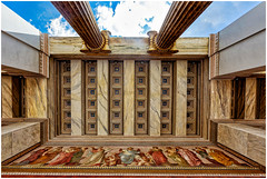 University of Athens Ceiling Fresco (Heathcliffe2) Tags: university athens deanery ceiling propylaea fresco painting art architecture beauty building marble christian hansen culture travel travelling sightseeing attica greece visit lookup national kapodistrian