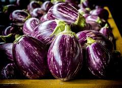 Bella Melanzana (jmhutnik) Tags: eggplant purple farmersmarket charlestonwv capitolmarket summer crop august 52frames nikon