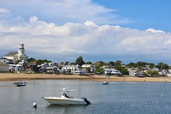 From the Wharf (Read2me) Tags: cye pree tcfe provincetown boats harbor marina water clouds sky beach