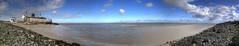 Duke of Lancaster (Tony Shertila) Tags: gbr geo:lat=5330550580 geo:lon=323517322 geotagged llannerchymôr mostyncommunity unitedkingdom wales 20160405123050walesmostyndukeoflancasterpm1pano europe britain coast sea ship dukeoflancaster rust ruin broken deralict river riverdee sly panorama