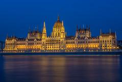 Hungarian Parliament Building Budapest (Torok_Bea) Tags: bea török hungarianparliamentbuilding budapest parlament bluehour kékóra night europe hungarianparlament nikon nikond7200 d7200