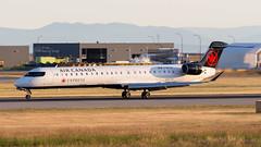 Bombardier CRJ-705 C-GFJZ Air Canada Express (William Musculus) Tags: vancouver airport international yvr cyvr spotting richmond britishcolumbia canada ca cgfjz air express bombardier crj705 cl6002d15 crj900 canadair regional jet qk jza ac aca william musculus
