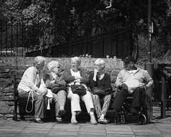 Gossiping (JEFF CARR IMAGES) Tags: northwestengland towncentres