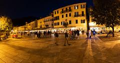 Lago Maggiore 2018 - Cannobio (karlheinz klingbeil) Tags: nacht night lagomaggiore platz marketsquare abend italia stadt italien panorama evening city italy cannobio provinzverbanocusioossola it