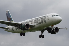 N203FR A320 Frontier (JaffaPix +4 million views-thanks...) Tags: n203fr a320 320 airbus frontier ffr dca kdca washington aviation airplane aeroplane aircraft airline jaffapix davejefferys airliner flying washingtonnationalairport inflight