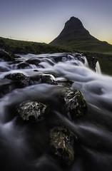 Kirkjufellsfoss (Longleaf.Photography) Tags: kirkjufellsfoss kirkjufell mountain waterfall iceland snaefellsness river rocks