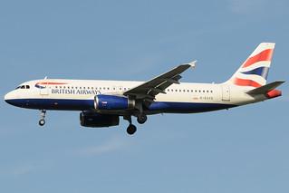 G-EUYD - Airbus A320-232 - British Airways @ MXP