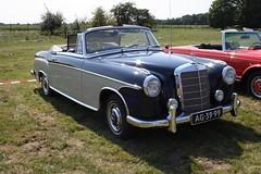 Mercedes-Benz 220 AC 1959 (TedXopl2009) Tags: classicwingswheels2015 ag3999 mercedesbenz 220 ac