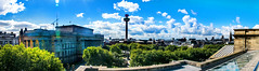 Liverpool Panorama (Tony Shertila) Tags: england liverpool architecture books britain building cityscape europe library liverbirds liverbuilding merseyside panorama vista ©2018tonysherratt 20180905115114liverpoollrpano4a
