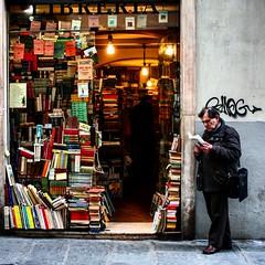 Independent bookshop (marfon65) Tags: street people books shop