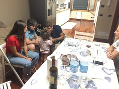 At Orazio, Dalila amd Carlotta's House for Dinner (dewelch) Tags: academic architecture church college family history italia milan milano screenwritingresearchnetwork srnconference travel university