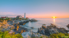 Portland Head Lighthouse (iecharleton) Tags: lighthouse portland southportland maine coast coastline bay shore dawn sunrise morning sunset landscape seascape orton hdr architecture shipping navigation dreamy newengland northeast