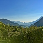 Mountain view near Breitenau, Bavaria, Germany thumbnail