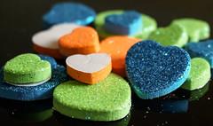 Macro Mondays: multicolor (Körnchen59) Tags: macromondays thema multicolor bunt herzen heart körnchen59 elke körner sony 5000 macro