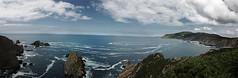 Lobios Panview (ennanco) Tags: sea cliff blue cloud panview landscape coast rocks galicia lugo spain seesight