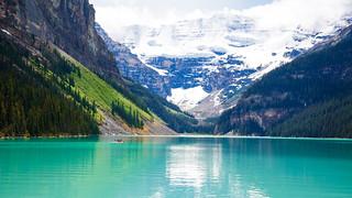 Clear Blue - Lake Louise