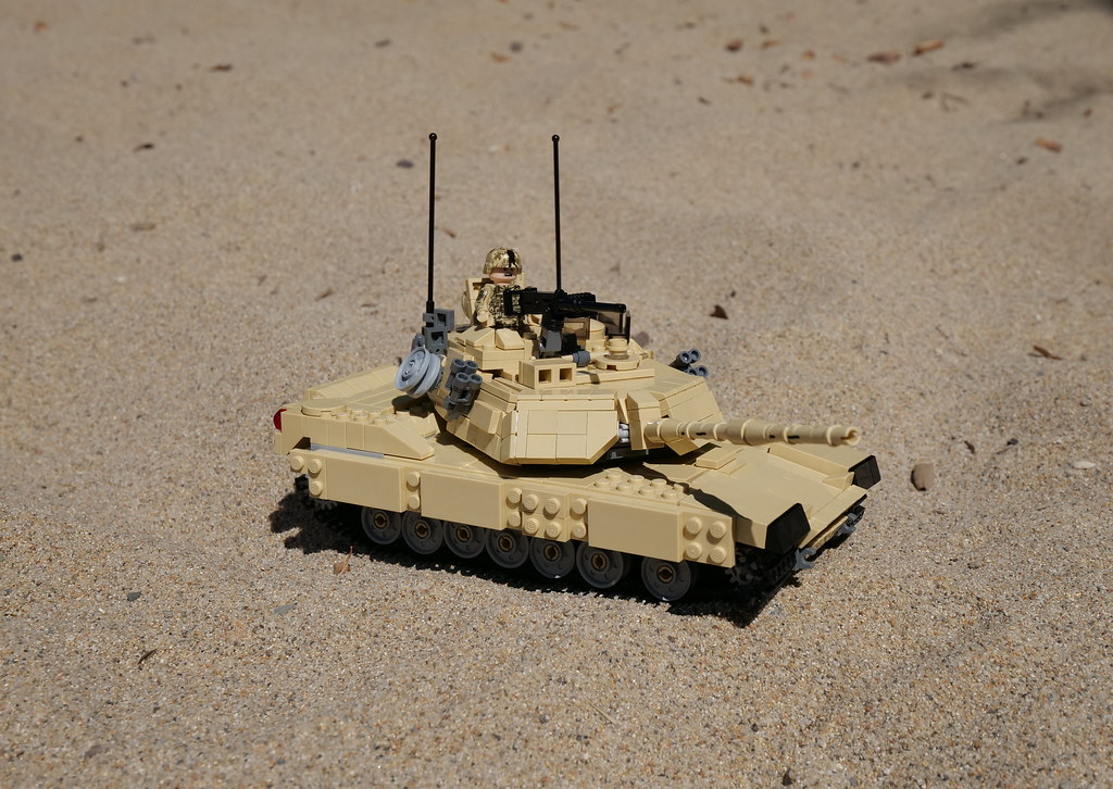 bd8bd8c78e0f M1 Abrams (alex bricks) Tags  military lego desert m1 abrams tank vehicle
