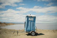 United We Stand (tourtrophy) Tags: portabletoilet alviso alvisomarinacountypark toilet levee sanjose southbay sonya7rii canonfd35mmf2