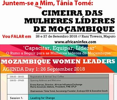 Tania Tome Chairwoman Mozambique Leadeship Summit (mbusinessmozmagazine) Tags: chairwoman leadership woman summit cimeira das mulheres lideres tania tome succenergy tânia tomé leader serial entrepreneur tv personlaity star coach mentor strategical partner international advisor brand ambassador barack obama president award winner lider empreendedora economista jovem africana successo workshop speaker motivational palestrante tedx ted