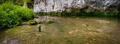 Wasser im Fluss (Jensens PhotoGraphy) Tags: deutschland germany badenwürttemberg fluss river wasser water landschaft landscape langzeitbelichtung panorama