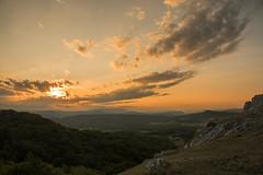 Otra toma de la misma puesta de sol.