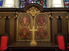 St Peter upon Cornhill (sarflondondunc) Tags: stpeteruponcornhill church altar tetramorph cornhill cityoflondon london