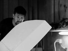 (LV diaphragm) Tags: france fujifilm x30 noir black blanc white monochrome paipo surf shaper shape s4f custom board bodyboard la rochelle