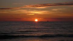 Un Dimanche au Havre - Le parc de Rouelles - Sainte Adresse - Le soleil couchant sur la plage (jeanlouisallix) Tags: le havre sainte adresse seine maritime haute normandie france paysages panorama landscape randonnée nature soleil couchant sunset plage mer côte dalbâtre estran falaise galets lumière