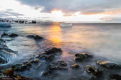Arctic Sunset, NyAlesund, Svalbard (Soheb So) Tags: arctic sunset nyalesund longexposures fjord sea beautiful nikon photography landscape