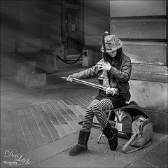 Girl Playing Erhu (Digital Lady Syd) Tags: erhu scotland edinburgh musicalinstrument music chinesetraditionalmusicalinstrument bowedstringedinstrument