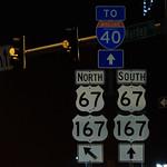 McCain Boulevard Little Rock - US67 US167 to I-40 Signs_ thumbnail