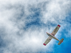 The old dream (Elenovela) Tags: flugzeug himmel sky clouds wolken airplane