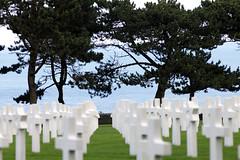 CollevilleSurMer_20180907_021 (Bourgeois Jean) Tags: pelouse américan cemetery collevillesurmer american normandie omahabeach hommage