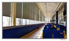 waiting room (harrypwt) Tags: harrypwt africa afrika samsungs7 s7 borders framed accra airport ghana interesting composition windows contrast lines blue