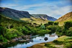 early rio (rovingmagpie) Tags: newmexico pilar orillaverderecreationarea orillaverde riograndegorge riogrande painted river rio summer2018