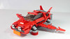 Lego Hot Ride glider from Fortnite (hachiroku24) Tags: lego fortnite glider hot ride delorean car flying moc