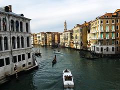 Venice Canal (1) (MJR415) Tags: venice italy italia venezia canal sun sunset set travel