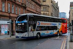 50402 YX18LKL Stagecoach Western (busmanscotland) Tags: 50402 yx18lkl stagecoach western yx18 lkl volvo b11rle plaxton panorama west scotland