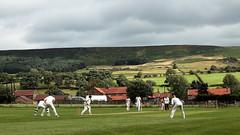 Yorkshire Cricket (Mike.Dales) Tags: eastharlseycc cricket chopgate northyorkshiremoors nationalpark england