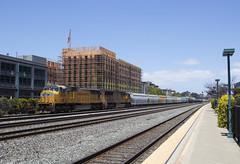 Oakland Local (imartin92) Tags: emeryville california unionpacific railroad railway freight train emd sd70m locomotive
