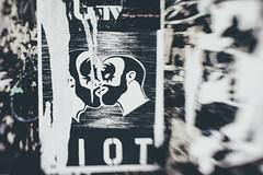 Poster Fragments (N.the.Kudzu) Tags: urban city atlanta eastatlantavillage georgia poster fragments canondslr lensbabysol45 lightroom