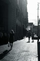 a summer day 3@Prague, CZ (Amselchen) Tags: pedestrian bnw blackandwhite light shadow season summer prague street streetphotography fujifilm fujinon fujifilmxt2 xf35mmf14r